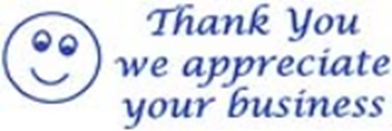 Picture of Thank You We Appreciate