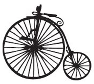Picture of Penny Farthing Doll