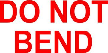 Picture of Do Not Bend