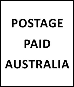 Picture of Postage Paid Australia