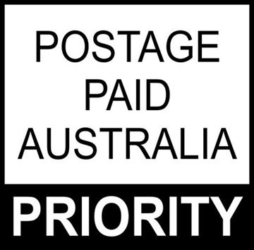 Picture of Postage Paid Australia Priority