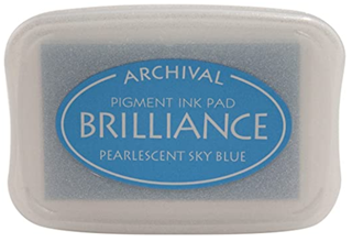 Picture of Pearlescent Sky Blue Brilliance