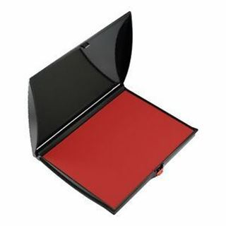 Picture of Hand Stamp Pad  128 x 178mm - Red